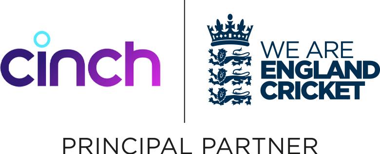 cinch Principal Partner to England Cricket